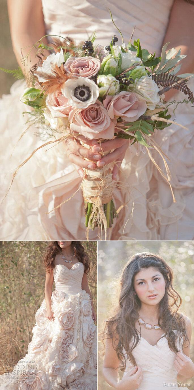 Detalles en color rosa pastel para tu boda - Foto Millie B Photography