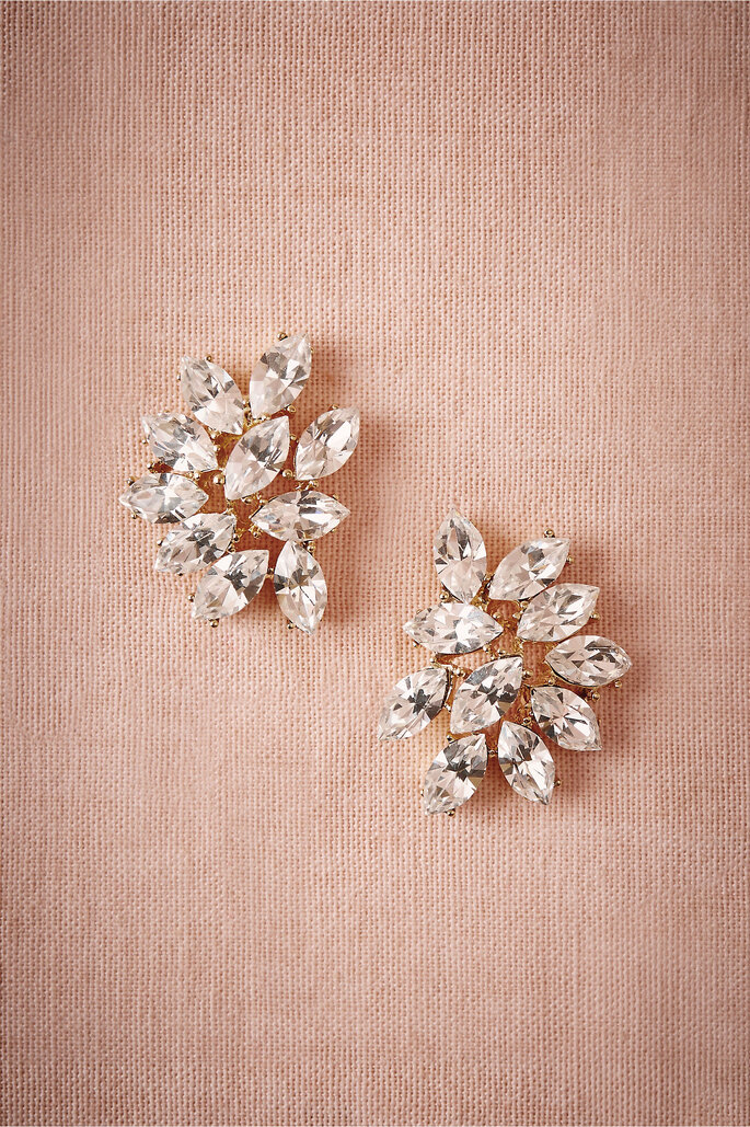 Marquee Crystal Earrings, Bhldn.