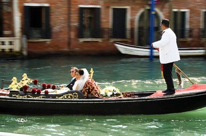 Romantik pur - Gondelfahrt zur Hochzeit in Venedig - Foto: sterte, flickr