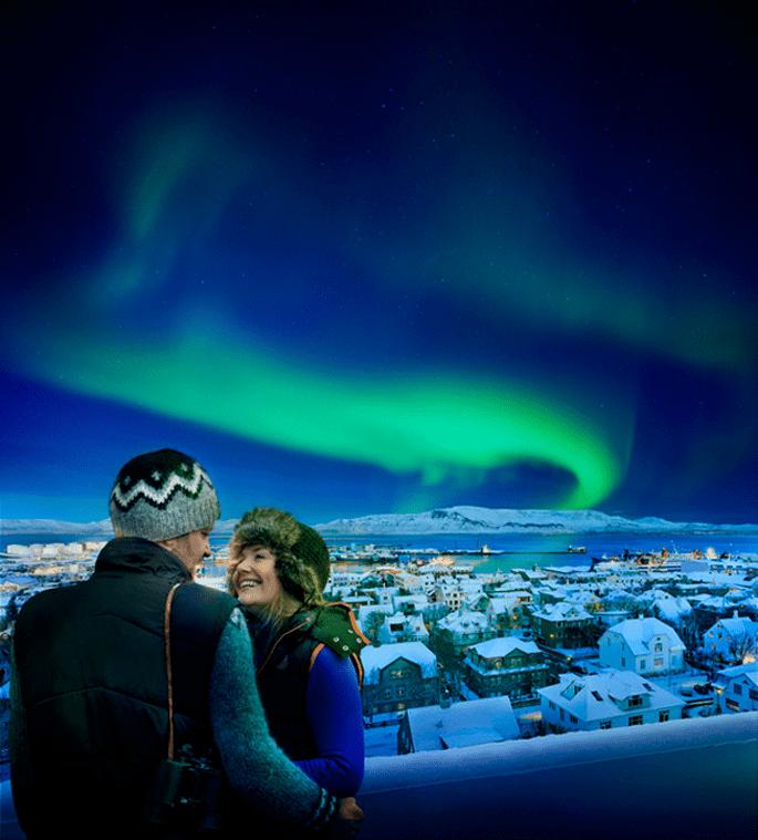 Ver una Aurora Boreal con Island Tours