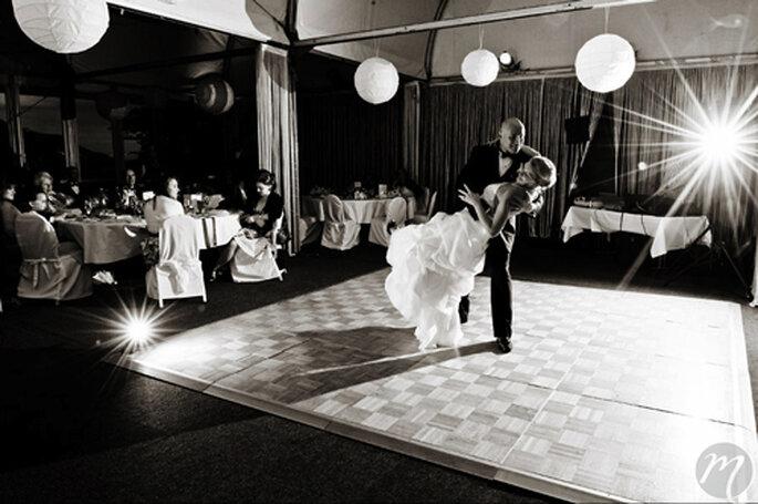 Hochzeitstanz par excellence. - Foto: Martina Rinke.