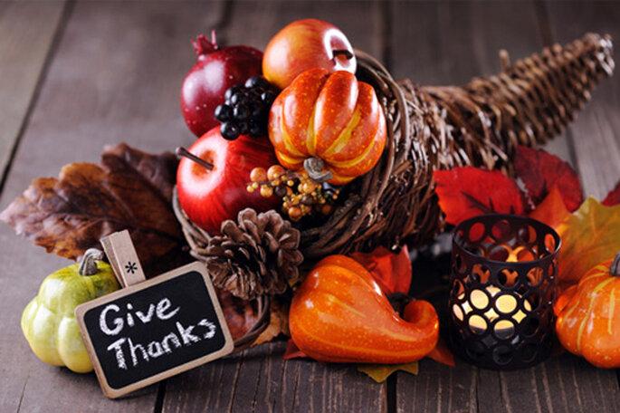 Decorado de Día de Acción de Gracias. Foto vía SheKnows.com
