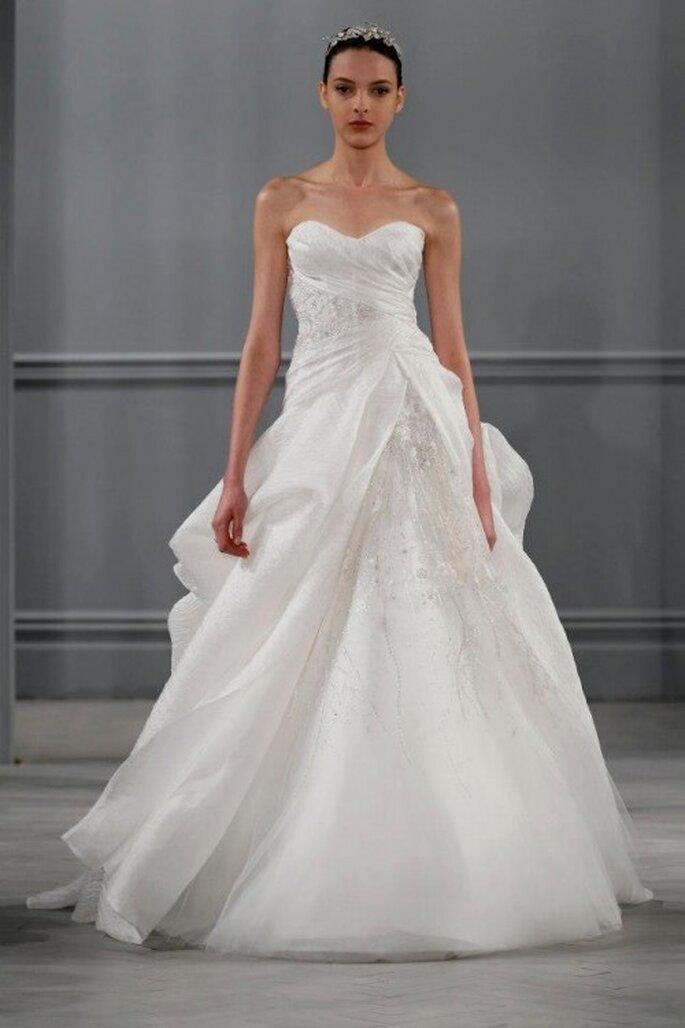Vestido de novia Monique Lhuillier primavera 2014