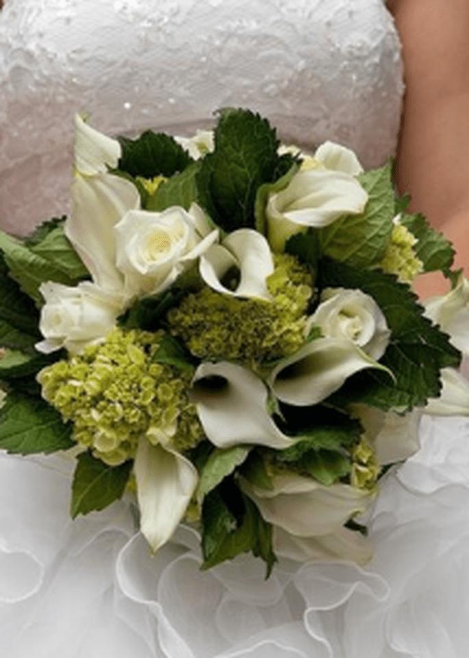 Un bouquet misto bianco