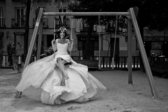 Shooting post-boda. Foto El Marco Rojo