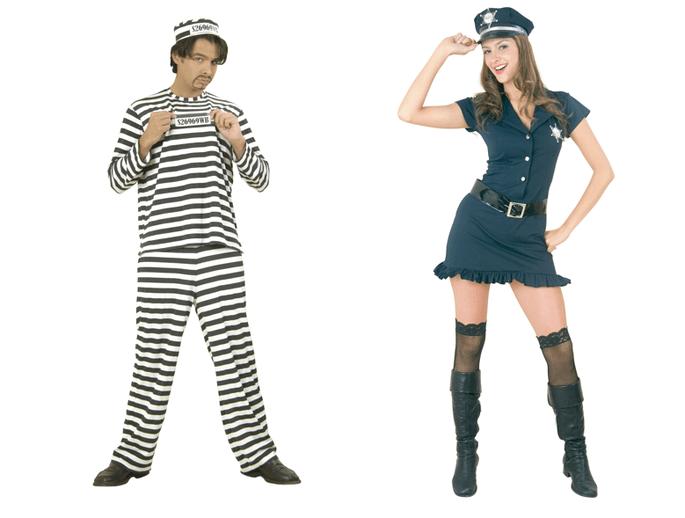 Ideas para disfrazarte con tu pareja-Cachivaches-Policias y ladrones