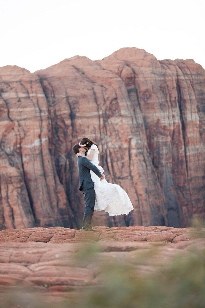 ¡A la cima del mundo! Una sesión de fotos encantadora - Foto Tyler Rye Photography