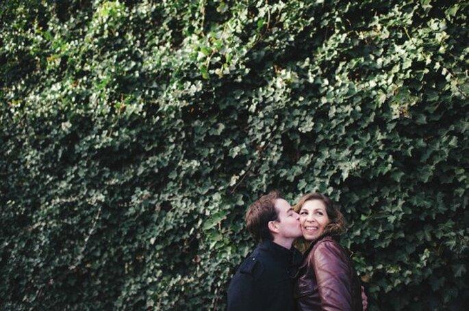 ¡Un beso robado! Foto: Sjoerd Booij Fotografie