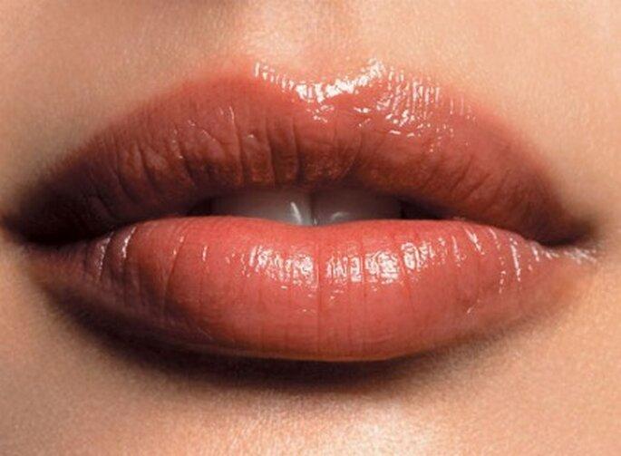 Maquillaje de labios natural