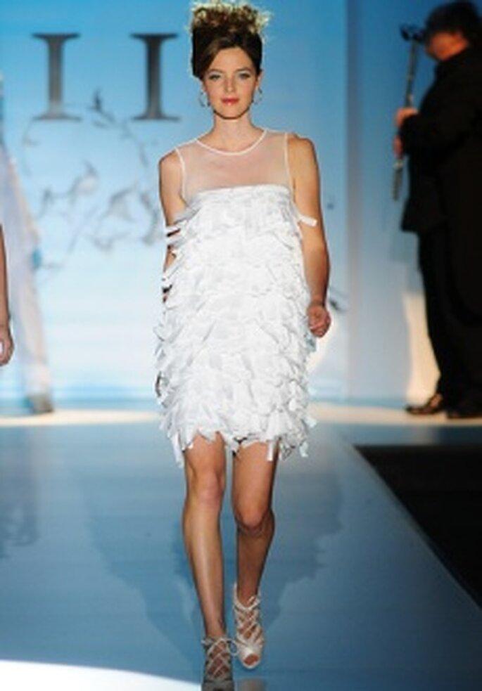 Colección de vestidos de novia cortos Novia D'Art 2011