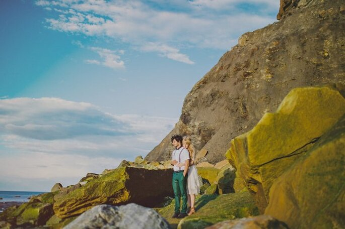 Real Wedding: Una boda hipster chic, con mucho color y tintes bohemios - Foto Fer Juaristi