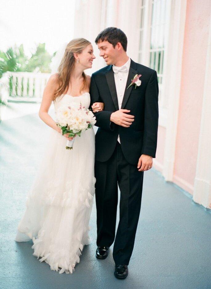 Real Wedding: Una boda en rosa al 100% - Foto Jason Demutiis Photography