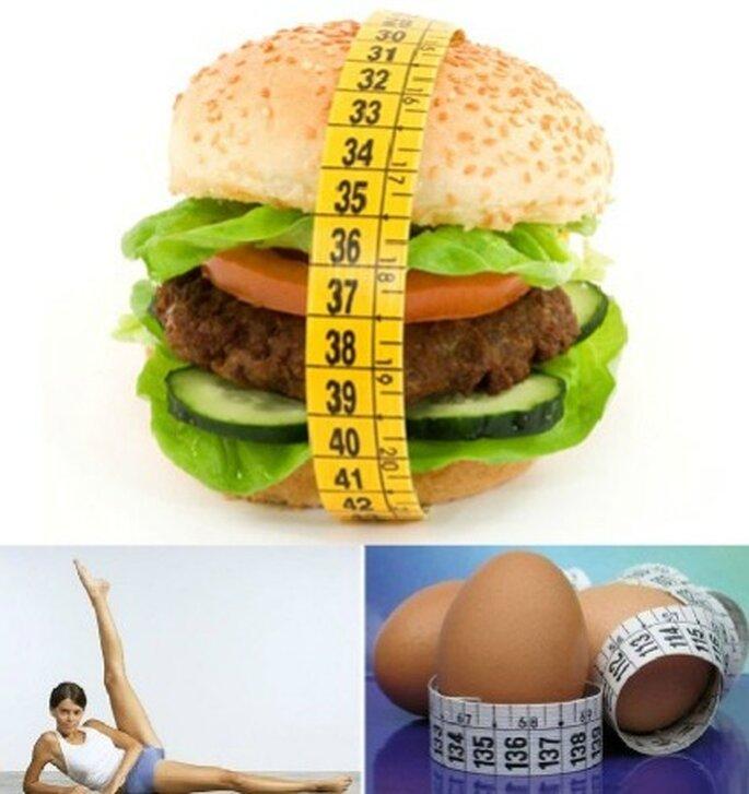 Evita i cibi pieni di grassi prima delle nozze