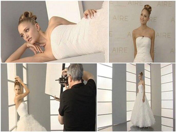 Colección de vestidos de novia Aire 2012