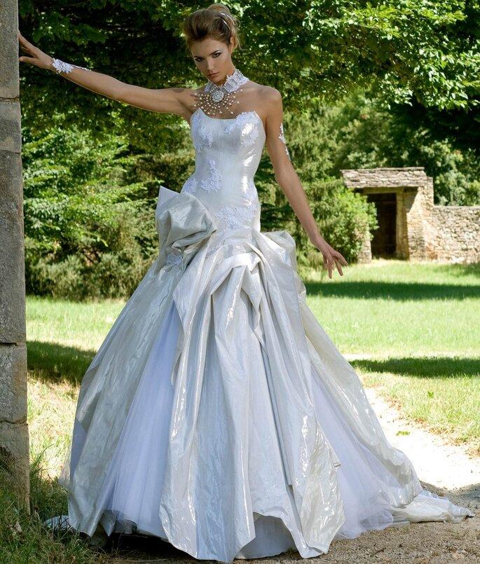 Robe de mariée Rosi Strella - Rêve d'argent