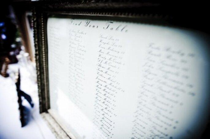 Haz una lista de invitados para que todo sea más fácil de organizar - Foto Etsy