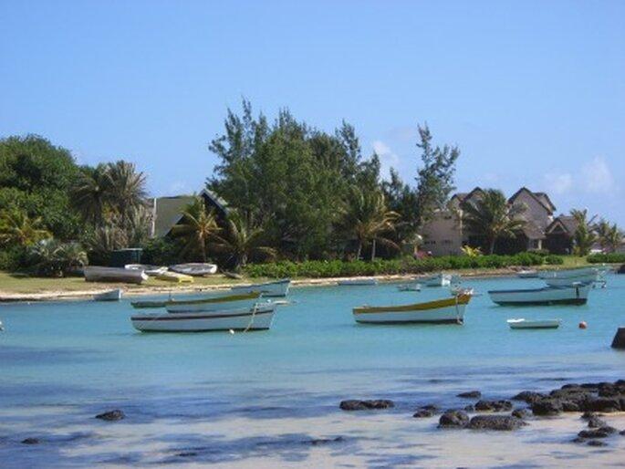 Flitterwochen auf Mauritius. Foto: Erdeundmeer / pixelio.de
