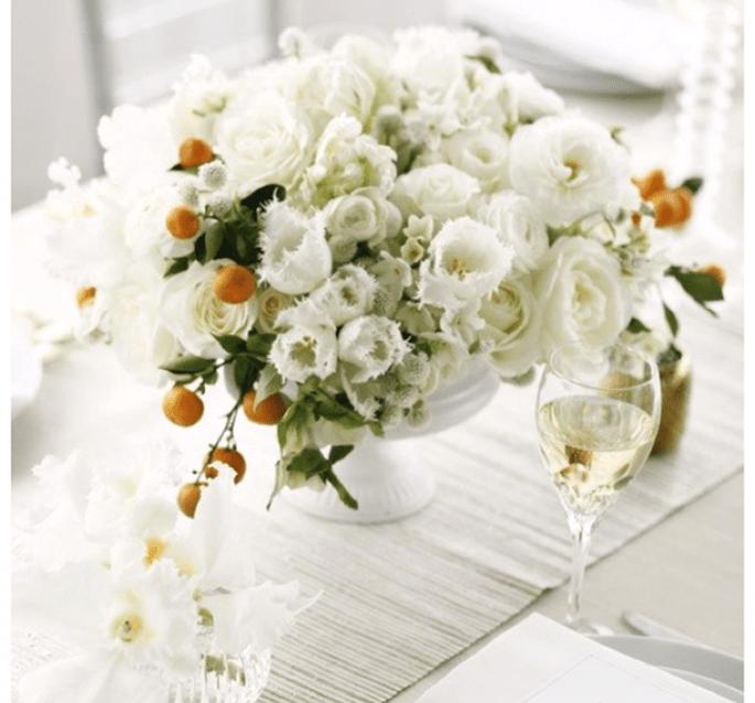 Los centros de mesa más elegantes para una boda en 2014 - Foto Belathée