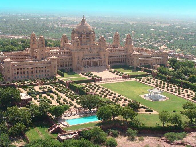 Photo: Umaid Bhawan Palace.