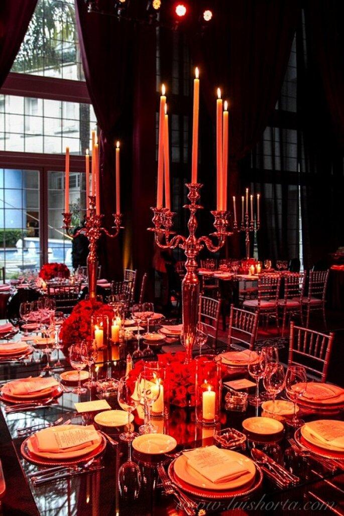 Decoración para una boda de día - Foto Paulina Ricardi