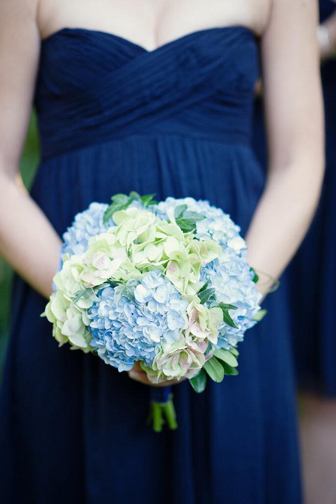 decoración azul marino - Robert & Kathleen