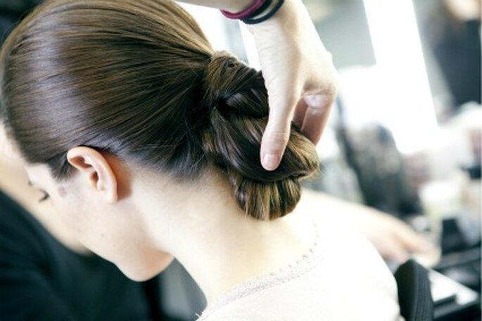 Otra propuesta de peinado de novia con trenza - Art Lab