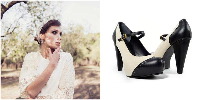 Créditos: zapatos de Lana Bang Store/ foto de novia de El Ojo Encantado