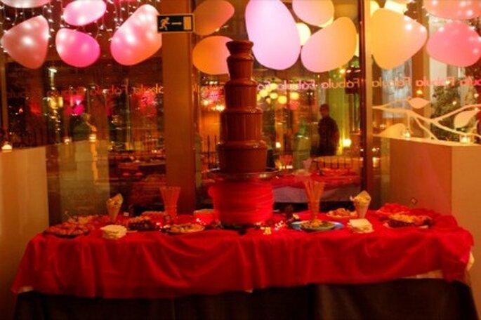 Fuentes de chocolate para tu boda