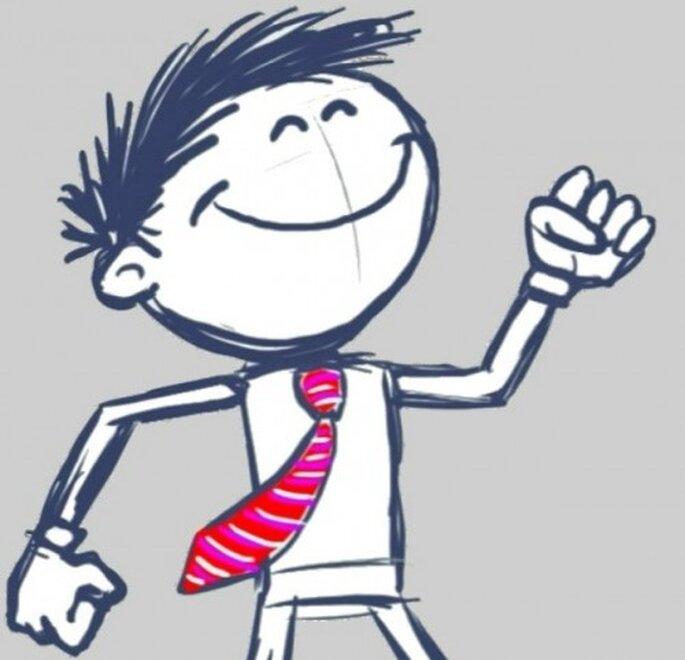 Label-cravate : des accessoires de mariage top chics