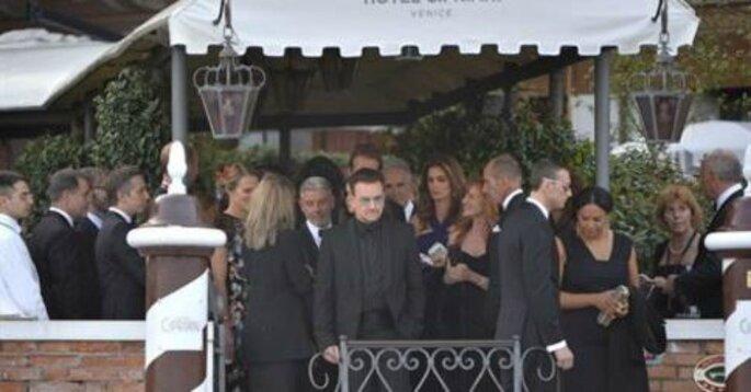 Il matrimonio di Amail e George - Foto via Facebook Vanity Fair Italia