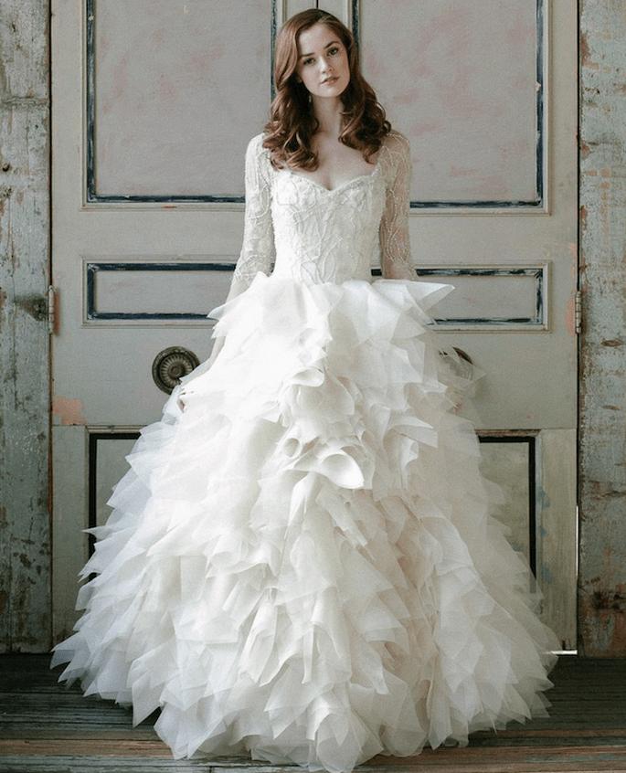 Las tendencias más grandiosas en vestidos de novia 2015 - Sareh Nouri