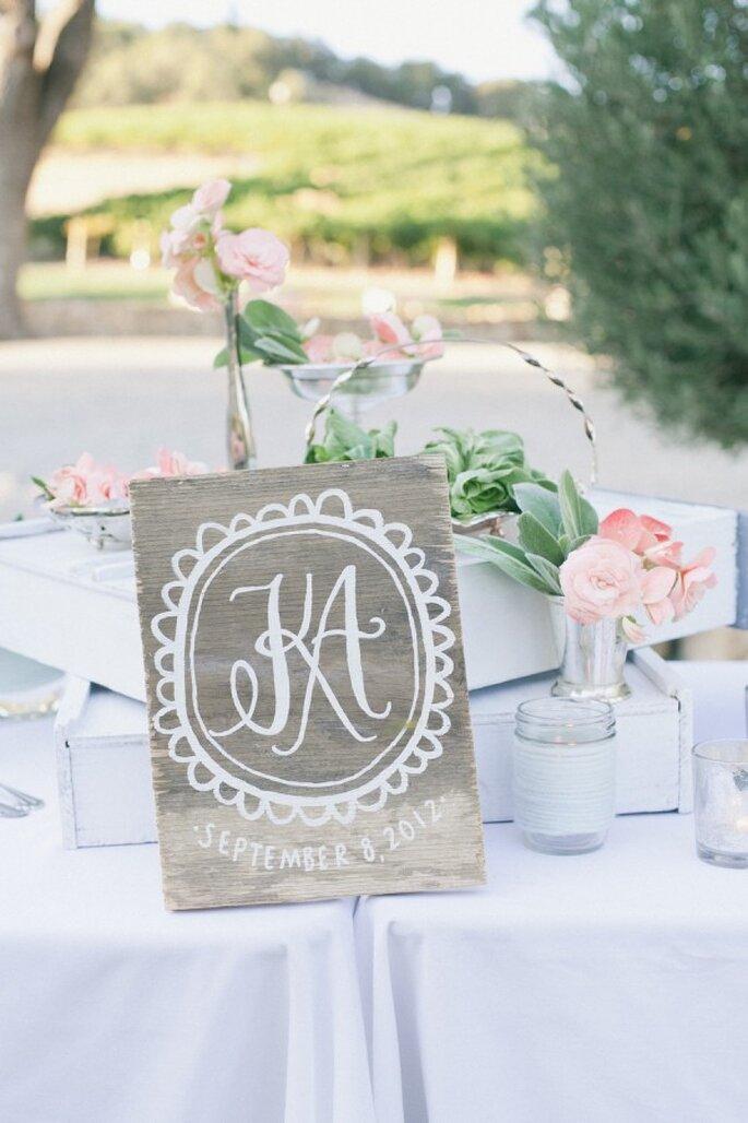 Los colores perfectos para decorar una boda en 2015 - Foto Onelove Photography