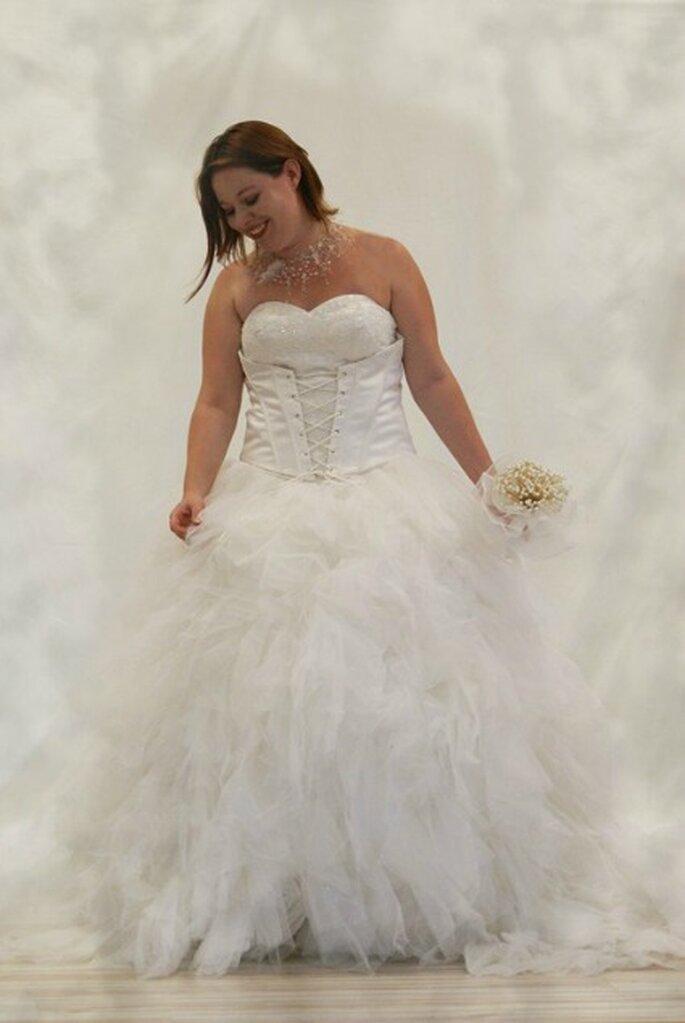 Robe de mariée Au coeur d'un rêve, modèle Balance - Photo : Au coeur d'un rêve