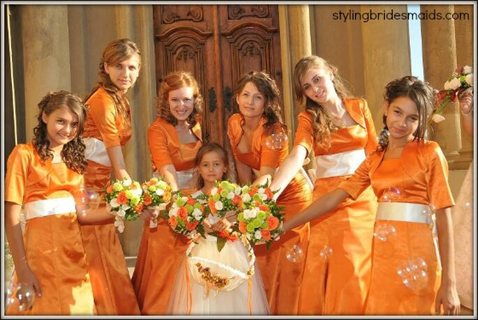 Foto via stylingbridesmaids.com