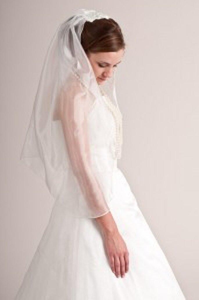 küss die Braut: Organzaschleier