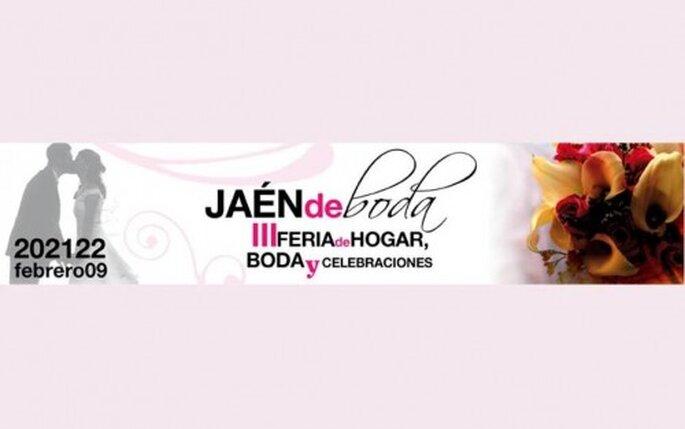 Cartel publicitario de la Feria de boda Jaen