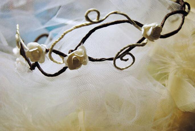 Romantisches Accessoire mit Röschen