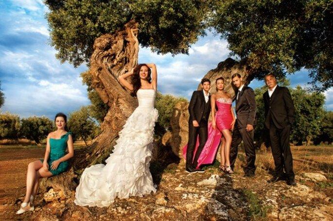 Eine Brautmoden-Kollektion mit Temperament – Foto: Demetrios