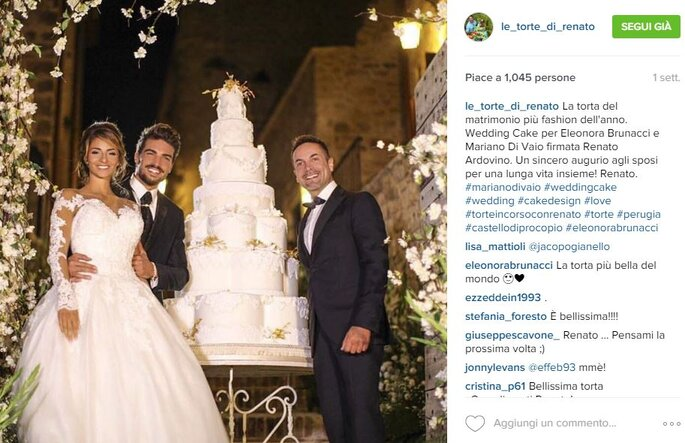Foto via Instagram.com/le_torte_di_renato