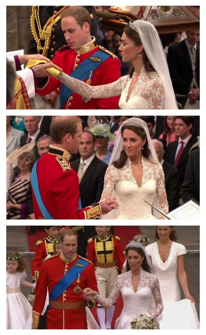 Guillermo y Kate en La Abadia de Westminster