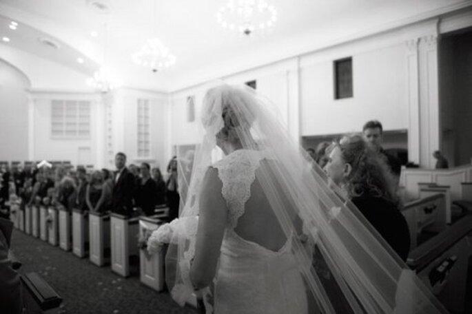 Sólo tú decides con quién caminar hasta el altar - Foto Amber Davis
