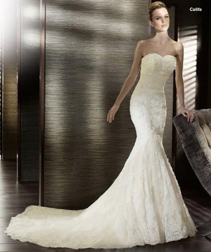 Robes de mariée coupe sirène 2012