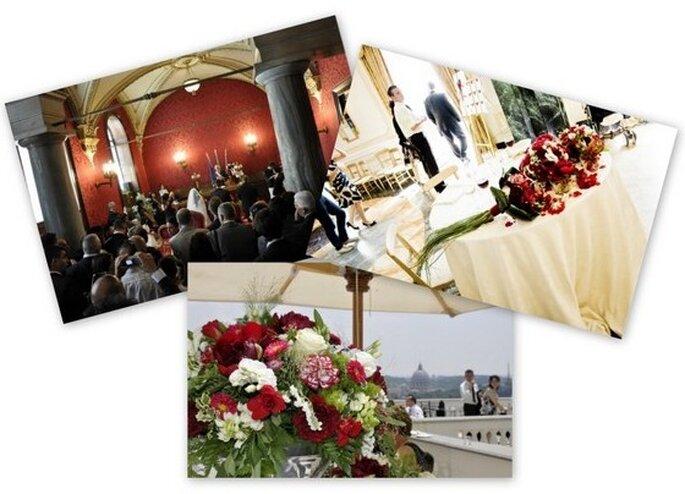 3 dettagli del matrimonio di eE a Roma