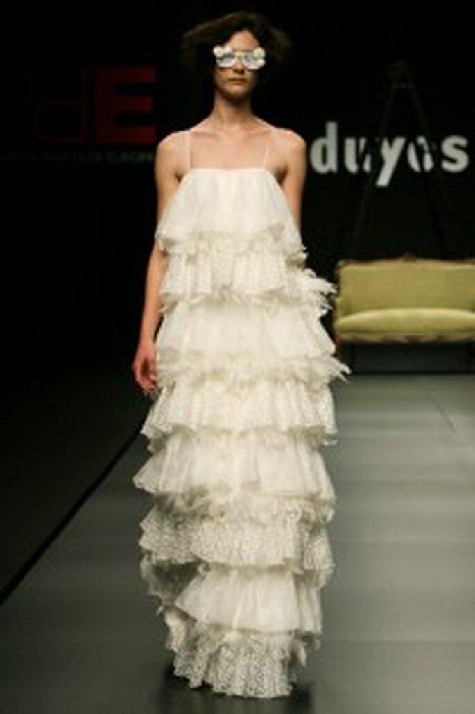 Robe de mariée Juan Duyos 2009 style sévillan