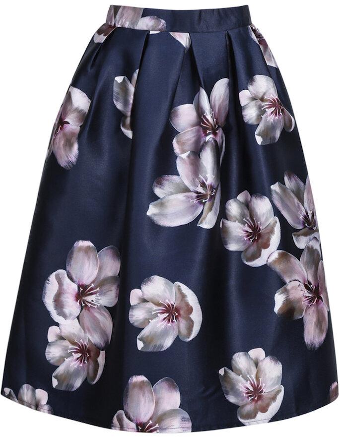Midi skirt para invitada de boda - SheInside