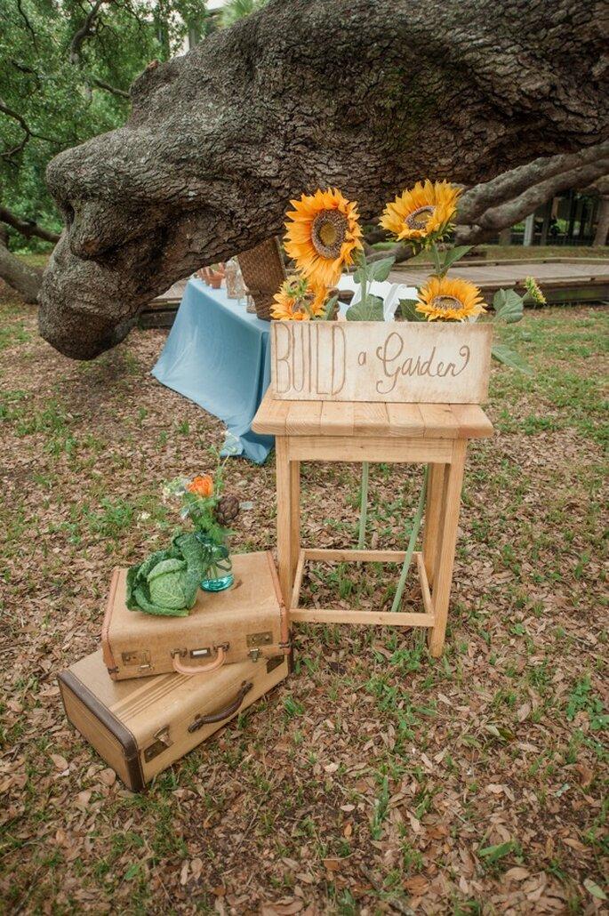 Una boda con detalles country - Foto Alex Michele Photography