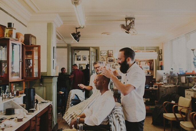 Foto: Robert J Hill - New York Barbershop