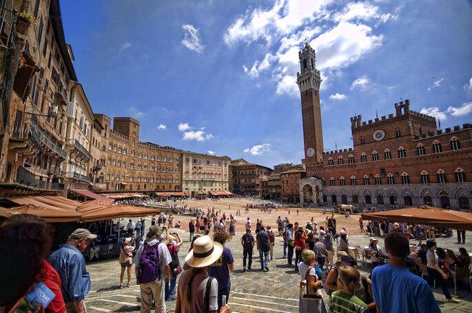 10 de las ciudades más románticas en Italia para tu luna de miel (Siena) - Giorgos Vintzileos en Flickr (CC)