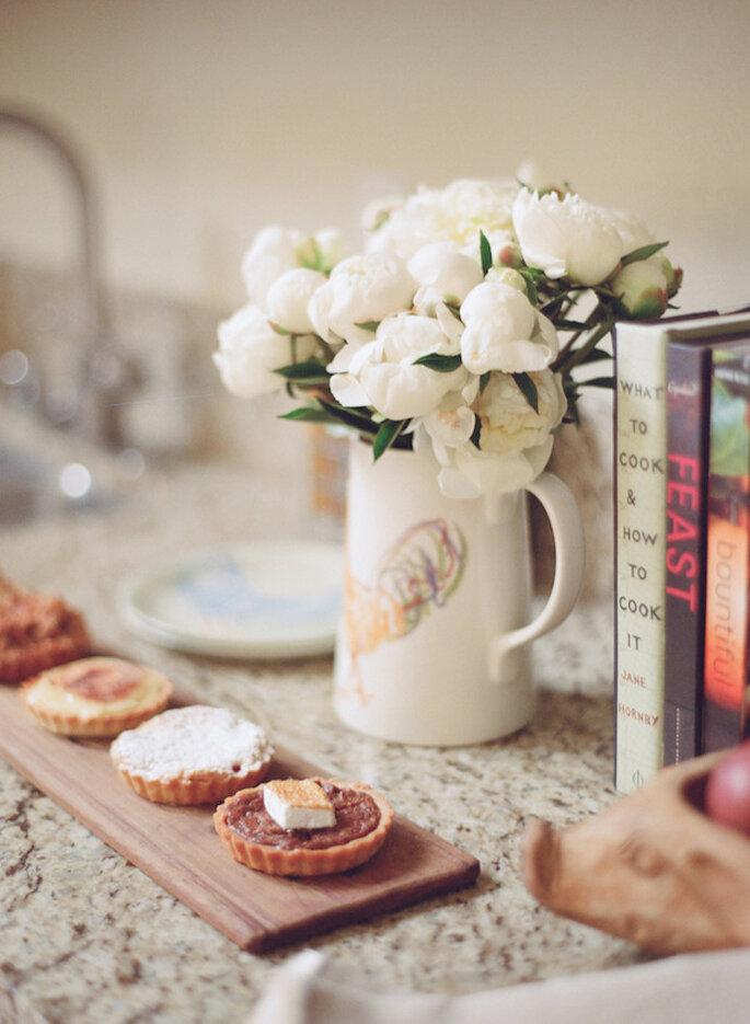 Lindas jarras para decorar tu boda - Foto Elizabeth Messina