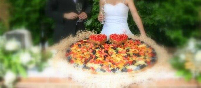 Wedding cake di un matrimonio targato eE